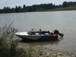 Лодка Днепр с мотором Tohatsu 30