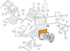Фильтр салона. Volkswagen Touareg, 7L6, 7L7, 7LA Volkswagen Amarok, 2HA, 2HB, S1B, S6B, S7A, S7B Volkswagen Transporter, 7EA, 7EB, 7EC, 7EF, 7EG, 7EH...