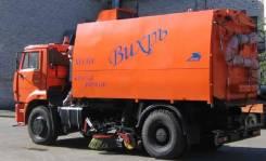 КО-318Д на шасси КАМАЗ-53605 вакуумная подметально-уборочная (пылесос), 2018