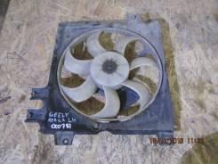 Вентилятор охлаждения радиатора. Geely CK Geely Otaka