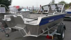 Алюминиевый Катер RusBoat-43 JET PRO (Русбот), новый