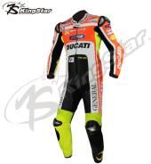 Эксклюзивный кожаный мотокомбинезон  SBK Rossi Replica Ducati