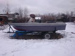 Самодельная лодка(водомет)
