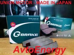 Японские тормозные колодки G-Brake GS02383 (NR-1091) В Наличии !