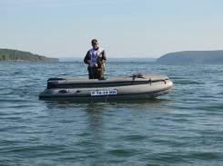 Продам ПВХ лодку Фрегат 380 с мотором Mercury 30