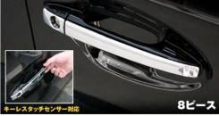 Накладка на ручку двери. Toyota Prius, ZVW30, ZVW30L
