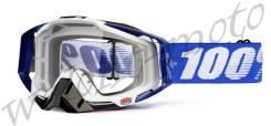 Очки 100% Racecraft Cobalt Blue Прозрачная линза 50100-002-02