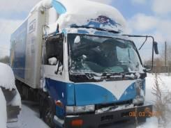 Продам грузовик Nissan Diiesel  по запчастям (будка, кабина, двигатель)