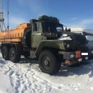 Урал 5557 автозаправщик и Камаз-самосвал