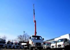 Hyundai HD78. Бортовой грузовик HD-78 с КМУ Palfinger PK8500, 3 900куб. см., 4x2