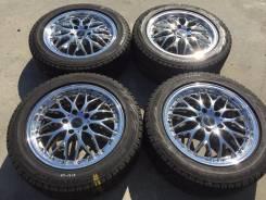 "215/55 R17 Bridgestone Blizzak Revo GZ литые диски 5х114.3 (К7-1710). 7.0x17"" 5x114.30 ET48"