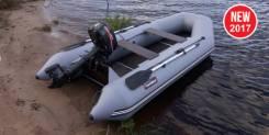 Моторно-гребная лодка 2017 года Hanter 320ЛК. Хит продаж! Модерниз