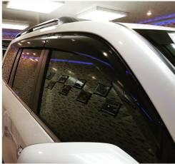 Ветровики Land Cruiser 200 2016 Качество. С надписью, в Благовещенске. Toyota Land Cruiser, FZJ71, FZJ76, FZJ78, FZJ79, GRJ200, GRJ71, GRJ76, GRJ76K...