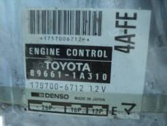 Б/У блок управления ДВС 4AFE AE114 AT 896611A310, 1757006712