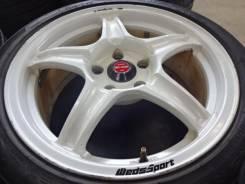Шикарные белые Weds Sport RS-05 5X114,3 et 40 7,5J R17 Brembo OK!