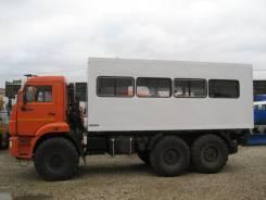КАМАЗ 43118-3999-46 Вахтовый автобус, 2017