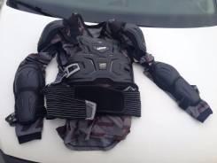 Защита тела (Черепаха) Leatt Body Protector XL + Наколенники FOX.