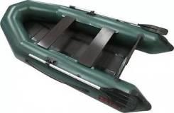Продам лодку пвх Тайга 270Р NEW серый (реечный пол)