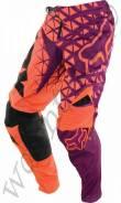 Штаны Fox 360 Given Pant размер:34 Оранжевый с фиолетовым (09684-016-34)