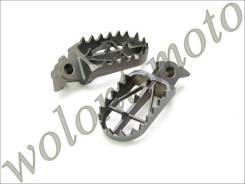 Подножки DRC High (+5) RMZ250/450 10-,RMX450Z 10- Темно серый D48-02-620