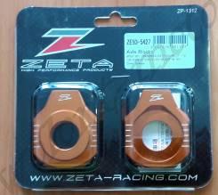 Натяжитель цепи ZETA Rear Axle Block ZE93-5427 Оранжевый KTM SX/SXF-12, 85SX