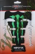 Наклейка на бак Monster Зеленый Китай