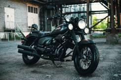 Мотоцикл WELS трофейный, 2016