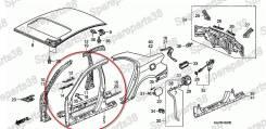Панель кузова передняя правая для Honda Legend KB1