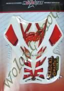 Наклейка на бак R1 Красно-белый Китай