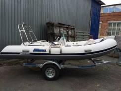 Продам лодку RIB 420- меркурий экстра