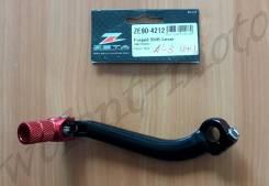 Лапка переключения передач Zeta Forged Shift Lever RMZ250 07- ZE90-4212 Черно красный