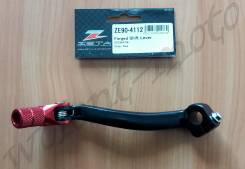 Лапка переключения передач Zeta Forged Shift Lever KX250F 09- ZE90-4112 Черно красный