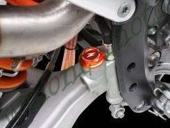 Крышка тормозного бочка Zeta (задний) Оранжевый ZETA Brake Reservoir Cover Brenbo KTM Husky ZE86-711