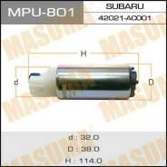 "Бензонасос ""Masuma"", с сеткой MPU-001. Subaru V=1800-2000MPU-801. Subaru: XV, Legacy, Impreza, Forester, Exiga Toyota: Platz, Allex, ist, WiLL Vi, Co..."