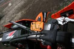 Крышка тормозного бочка Zeta (передний) Оранжевый ZETA Brake Reservoir Cover Magura KTM'09 ZE86-1410