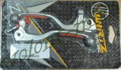 КОМПЛЕКТ РЫЧАГОВ СЦЕПЛЕНИЯ И ТОРМОЗА Orange Grip WIRTZ KTM 65-85 (04-06) 202-016