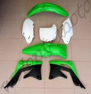 Комплект пластика Polisport Kawasaki KX450F 12 Зелено-черный 90466
