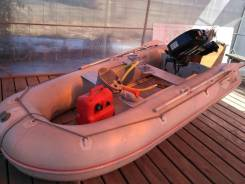 Лодка ПВХ с мотром
