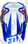Козырек для шлема Fox V1 Race Helmet Visor размер:М/L Синий15855-002-М/L