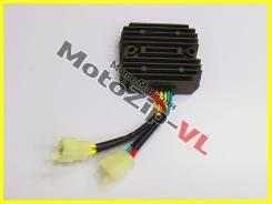 Реле регулятор реле зарядки выпрямитель . Honda Bros / Steed / Shadow