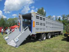 Тонар 98262. В Наличии! скотовоз полуприцеп (перевозка КРС, свиновоз), 22 000кг.