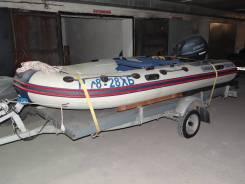Продаётся лодка с мотором и прицепом