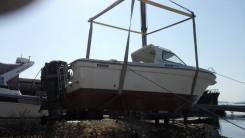 Качественная Перевозка катеров. Спуск на воду Рамка. борт 9м. кран 5тонн.