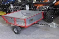 Прицеп самосвального типа для квадроцикла и мотовездехода, нагр 250 кг