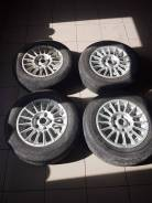 Литые диски R14 5x100 с резиной Bridgestone