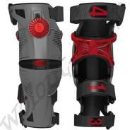 Наколенники шарнирные Mobius X8 L = 50.8-55.88см Серый с красным