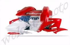 Комплект пластика Polisport Honda CRF450R 2008 Красный 90175