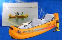 Двух-местная гребная лодка каноэ Sportek Europe.