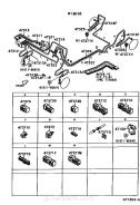 Шланг тормозной. Toyota Duet, M100A, M101A EJDE, EJVE, K3VE