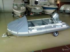 Новая лодка пвх yachtmarin Commander C330 AL